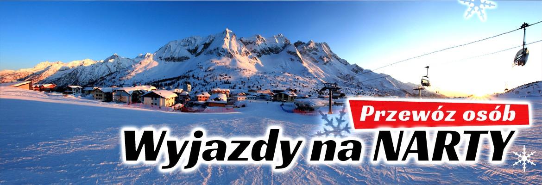 Przewóz osób na narty